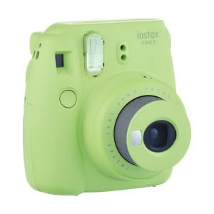 Fujifilm Instax Mini 9 Camera + 10 Shots Free - Lime Green