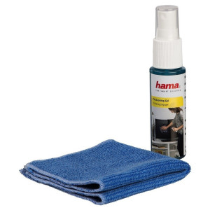 Hama LCD/Plasma Compact TV Cleaning Set with premium mirco fibre cloth