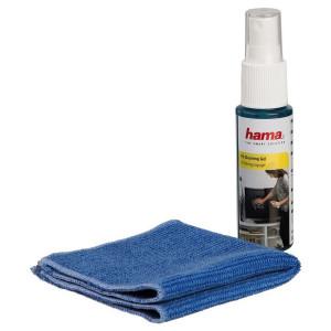Hama LCD/Plasma Compact TV Cleaning Set with premium mirco fibre cloth
