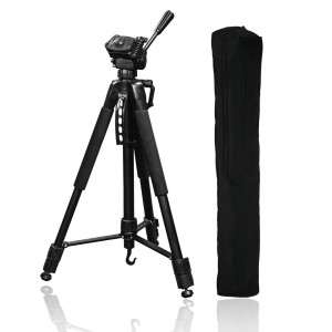 Hama 61-165cm Action 165 3D Tripod with 3-Way Head and Spikes