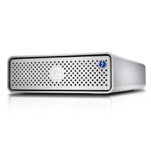 G-Technology G-DRIVE Thunderbolt 3 6000GB Silver External Hard Drive