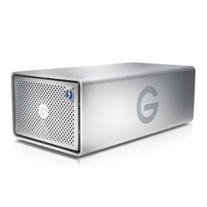 G-Technology G-RAID Removable Thunderbolt 2 USB 3.0 12TB Hard Drive - Silver