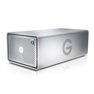 G-Technology G-RAID Thunderbolt 2 USB 3.0 20TB External Hard Drive - Silver