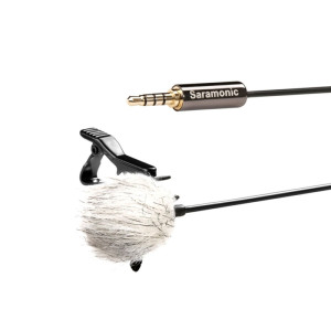 Saramonic Lavalier Microphone for Smartphone (SR-LMX1)
