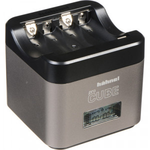 Hahnel Ultimate Plus ProCube Twin Charger for Canon and AA Batteries