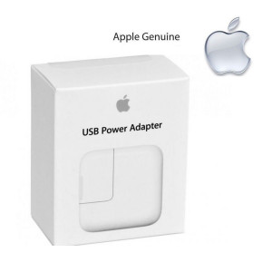 APPLE 12W Power Adapter MD836ZP/A IPhone IPad ORIGINAL