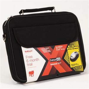 "DICOTA BaseXX Value Kit 12.1"" Black Notebook Mouse Bullguard D30290"