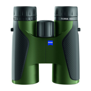 Zeiss 10x42 Terra ED Binocular, 2017 Edition (Black/Green)