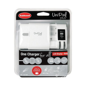 Hahnel Unipal Plus Battery Charger for Practically All Rechargeable Batteries