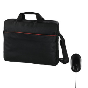 Hama 00101273 Tortuga 40cm 15.6 Notebook Carry Bag with an Optical Mouse