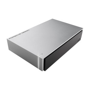 LaCie Porsche Design 6TB USB 3.0 Desktop External Hard Drive for PC and Mac HDD