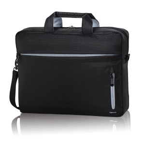 Hama 00101532 40cm 15.6 inch Polyester Notebook or Laptop Carry Bag Black