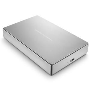 LaCie LAC9000604 Porsche P'9233 8TB USB 3.0 Desktop External Hard Drive - Silver