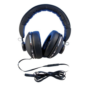 Bitmore BEATNiK Deep Super Bass Music Over Ear Headphones with Mic Comfort Fit