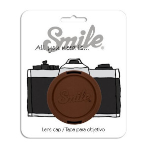 Smile 67mm Lens Cap - Indi Brown