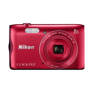 "Nikon A300 COOLPIX Digital Camera 20.1MP with 2.7"" Display, Wifi, NFC"
