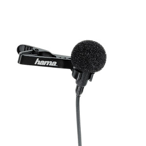 Hama LM-09 Clip-On Lavalier Microphone