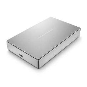 "LaCie STFD4000400 Porsche Design 4TB USB Type-C/3.0 Portable 2.5"" External Hard Drive"