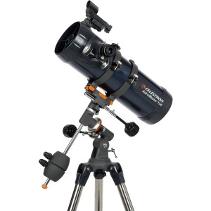 Celestron 31042 AstroMaster 114EQ 114mm f/8.8 Newtonian Reflector Telescope