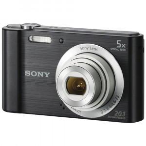 Sony Cyber-shot DSC-W800 20.1MP Digital Camera (Black)