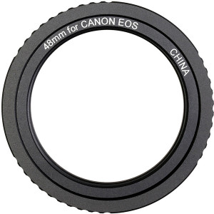Solomark Metal 48mm T-ring for Canon EOS Camera Lens Adapter