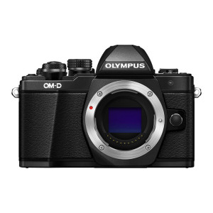 Olympus OM-D E-M10 Mk II Mirrorless Camera + 14-42mm & 40-150mm Lenses (Black)
