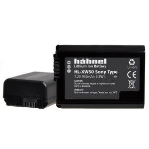 Hahnel HL-XW50 Li-ion Akku Rechargeable Camera Battery Replaces Sony NP-FW50