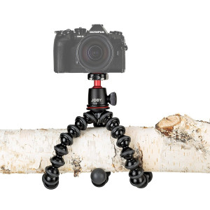 Joby JB01507-BWW GorillaPod 3K Lightweight Tripod Kit Black with Ballhead