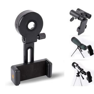 Smart Phone Adapter Holder Clip Bracket for Binoculars Telescope Monocular Spotting Scope Microscope