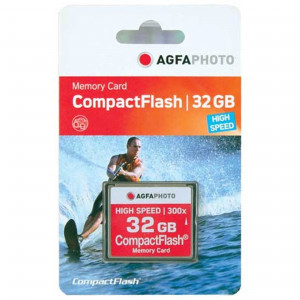 AGFA Photo 32 GB Compact Flash Memory CARD 300X CF