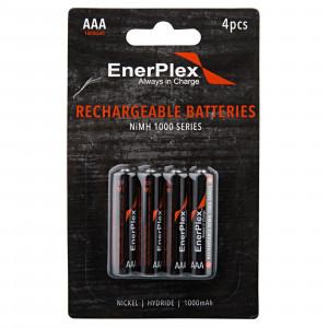 EnerPlex Rechargeable AA or AAA Batteries