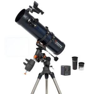 Celestron AstroMaster 130EQ-MD Motor Drive 130mm f/5 Newtonian Reflector Telescope