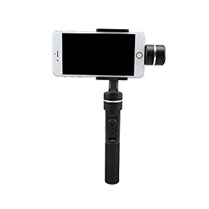 Feiyu Tech SPG 360° Limitless 3-Axis Video Stabilizer Handheld Gimbal for iphone with Seamless Knob Ring