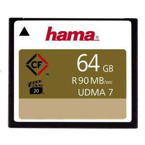 Hama 64GB High Speed Professional UDMA-7 90MB/s Compact Flash Memory Card
