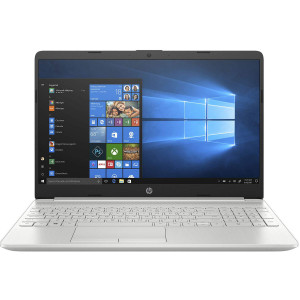HP 15s-du0121TU 15.6-inch Laptop 8th Gen Core i3-8145U, 4GB RAM, 1TB HDD Storage, Windows 10, Home 64 with FHD Display Natural Silver