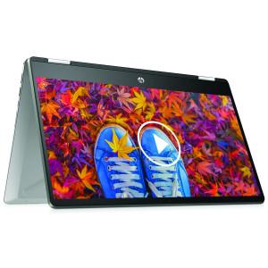 HP Pavilion x360 Convertible 14-dh1178TU Intel Core i3-10110U 8GB RAM 512GB SSD Mineral Silver 14-inch FHD Laptop