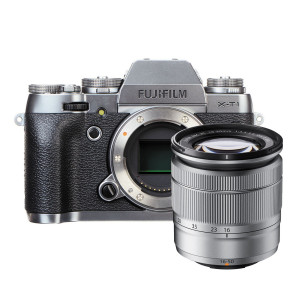 Fujifilm X-T1 Mirrorless Digital Camera with 16-50mm Lens (Graphite Silver Edition)