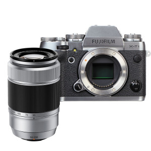 Fujifilm X-T1 Mirrorless Digital Camera with 50-230mm Lens (Graphite Silver Edition)