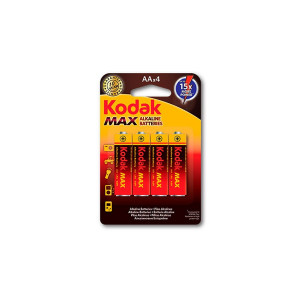 Kodak Max Alkaline AA x 4 Battery
