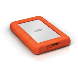"""LaCie Rugged Mini 2TB 2.5"""" External Hard Drive HDD Orange"""