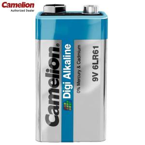 Camelion 6LR61-BP1DG 700 mAh 9.0 volts Digi Alkaline Battery Pack of 1