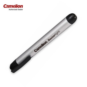 Camelion DL2AAAS Doctorlight Aluminium Flash Penlight 2 x AAA batteries