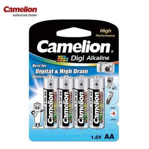 Camelion LR6-BP4DG 2700mAh 1.5 Volts Digi Alkaline 4 X AA/LR6 Batteries