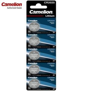 Camelion CR2025-BP5 3-Volts Electronics Lithium-Ion Button Cell Batteries
