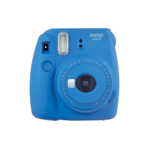 Fujifilm Instax Mini 9 Bundle - Cobalt Blue