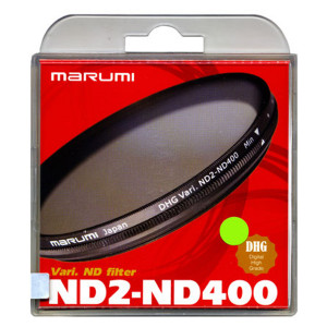 Marumi ND2-ND400 77mm DHG Variable Filter