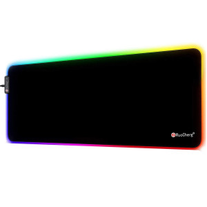 Gaming RGB Mouse Pad USB Plug & Play with 14 Mode 7 Colors - Game Yes