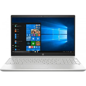HP Pavilion 15-CS2082TX 15.6-inch Laptop (8th Gen Core i5-8265U/8GB/256GB SSD/1TBHDD with Dedicated 2GB Graphics), Natural Silver