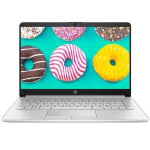 HP Star 14s-dp0009AU Youth Edition 14-inch Thin and Light Narrow Frame Notebook AMD Ryzen™ (R3-3300U 4GB 256GB SSD FHD IPS) Silver Laptop