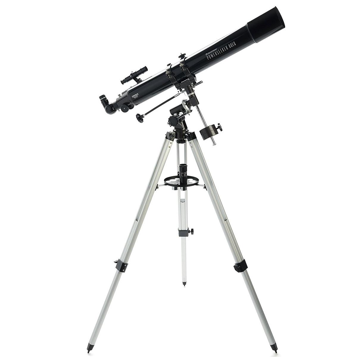 Celestron Powerseeker 80eq F 11 80mm Refractor Telescope Digital Outlet